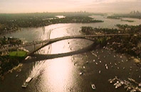 director Greg Punch - Gladesville bridge, Sydney